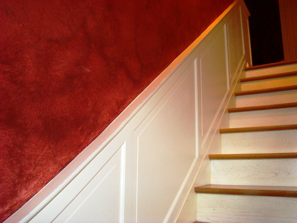 bougeres menuisier vitre habillage mur bois ffb vitr. Black Bedroom Furniture Sets. Home Design Ideas