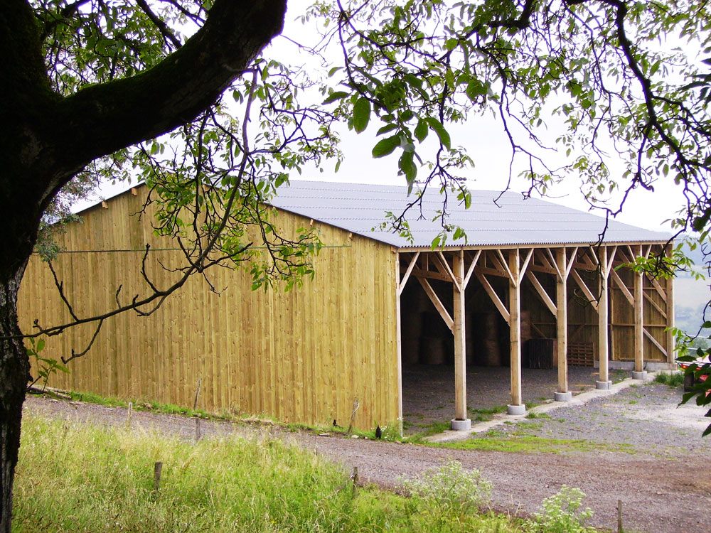 Roine batiment agricole charpente construction bois domalain u2013 FFB Vitré # Batiment Bois Agricole