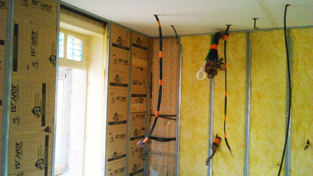 veille plaquiste renovation maison isolation cloisons saint enogat ffb vitr. Black Bedroom Furniture Sets. Home Design Ideas