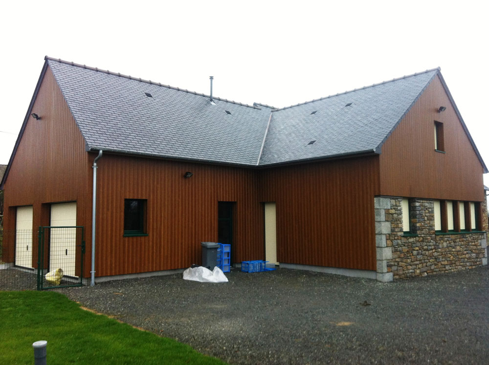 Charpente Maison Ossature Bois - lamy charpente ossature bois extension maison vitre u2013 FFB Vitré