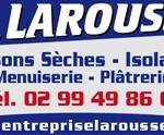 Larousse : cloisons, plâtrerie et isolation à Marpiré